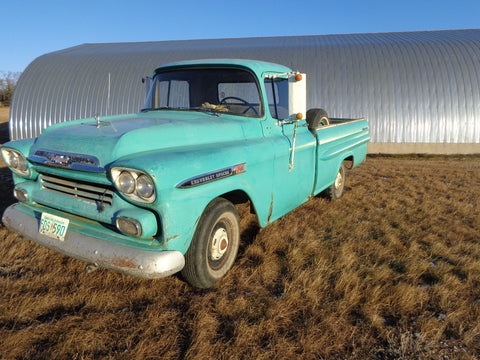 1955-1959 Chevy trucks