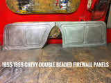 1955-1959 Chevy truck double beaded firewall panels