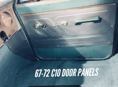 1967-1972 C-10 custom bead rolled door panels