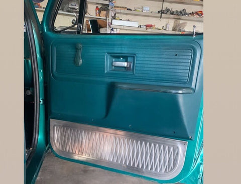 1973-1987 C-10 pleated lower door panel