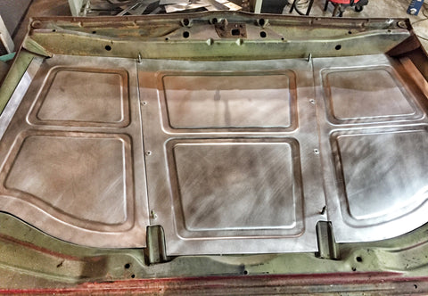 1969-1972 C-10 double beaded Underhood panels