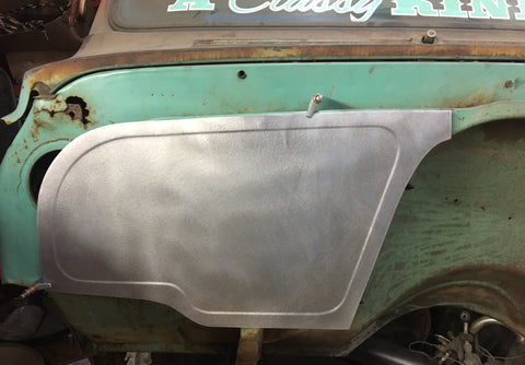 1967-1972 C-10 deluxe outer bead passenger  panel