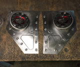 1955-1959 Chevy truck kick panels with speaker pods