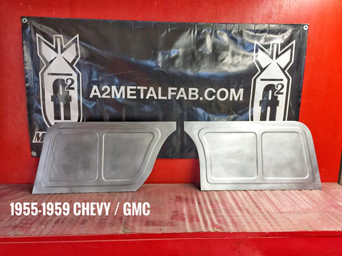 1955-1959 Chevy truck  firewall panels design #2