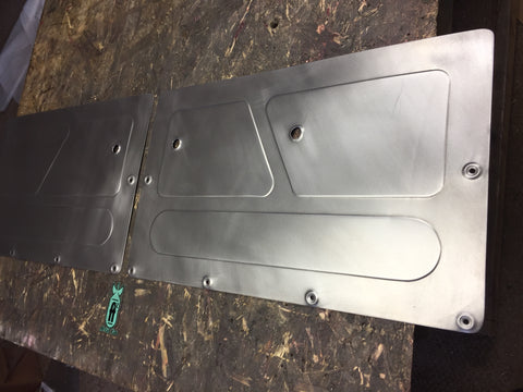 1967-1972 Chevrolet Suburban rear door panels
