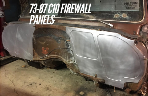 1973-1987 C-10 single beaded firewall panels