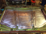 1969-1972 C-10 double beaded Underhood panels with Chevy Emblem
