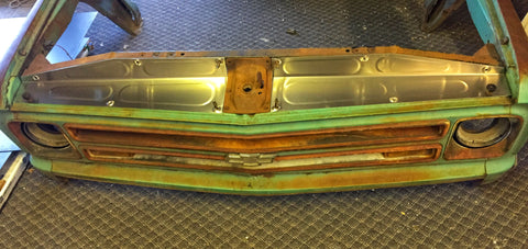 1967-1968 C-10 Core support filler panels ( Design 1 )