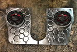 1972-1980 Chevy Luv hexagon kick panels w/ speaker pods