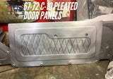 1967-1972 Chevrolet C-10 pleated door panels