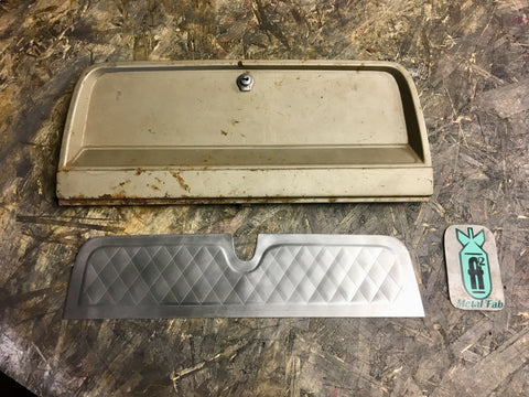 1964-1966 C10 pleated glove box door skin