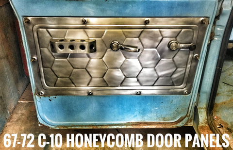 1967-1972 c-10 honeycomb door panels
