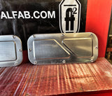 1961-1966 Ford F-100 door access panels raised bead / holes design