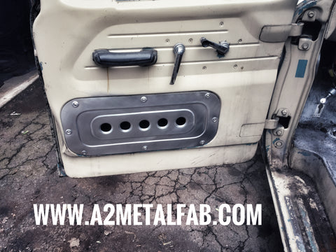 1961-1966 Ford F-100 dimpled door access panels