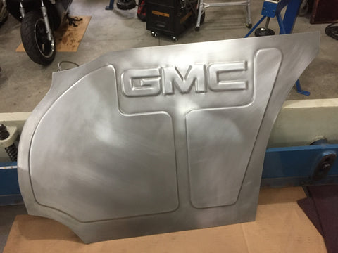 1973-1987 Chevy truck GMC logo passenger panel design #2