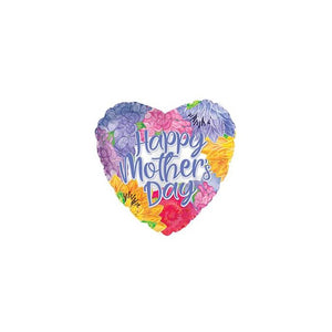 "18"" Mother's Day Lavender Script Foil Balloon"