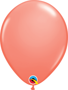 "Coral 11"" Latex Balloon"