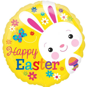 "18"" Happy Easter Bunny Foil Balloon"