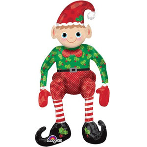 "29"" Sitting Elf Multi-Balloon"
