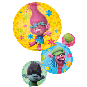 "Trolls SuperShape 22"" x 28"" Foil Balloon"