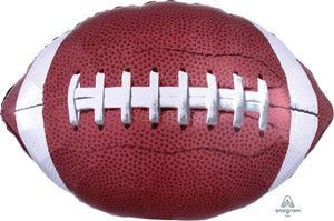 "31"" Football Super Shape Foil Balloon"