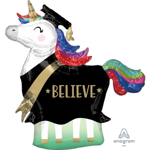 "33"" Unicorn Grad 'Believe'"