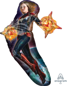 "37"" Captain Marvel Foil Balloon"
