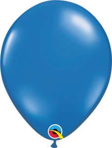 "Sapphire Blue Jewel 11"" Latex Balloon"