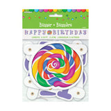 Candy Party Large Jointed Banner