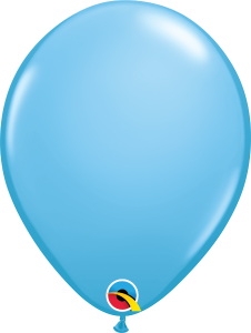 "Pale Blue 11"" Latex Balloon"