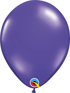 "Quartz Purple Jewel 11"" Latex Balloon"
