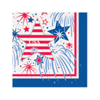 4th of July USA Fireworks Beverage Napkins, 16 ct.