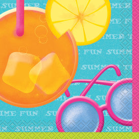 Pool Party Beverage Napkins, 16 ct.