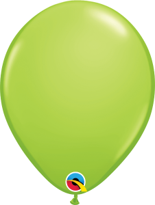 "Lime Green 11"" Latex Balloon"
