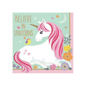 Magical Unicorn Beverage Napkins, 16 ct.