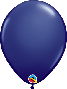 "Navy Blue 11"" Latex Balloon"