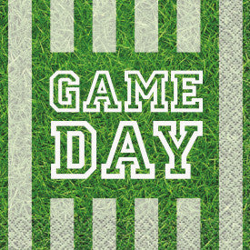 """Game Day"" Football Beverage Napkins, 16ct"