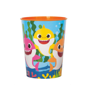 Baby Shark Plastic Favor Cup, 16 oz.