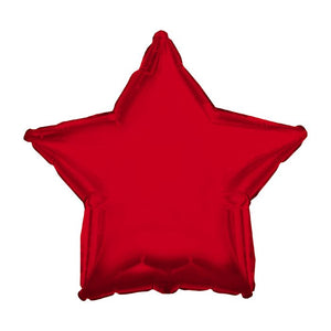 "18"" Red Star Foil Balloon.,. ,.,"