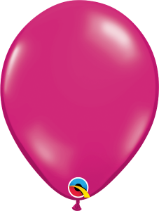 "Magenta Jewel 11"" Latex Balloon"