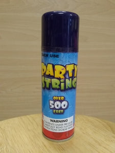 Party Silly String Navy Blue, 3oz