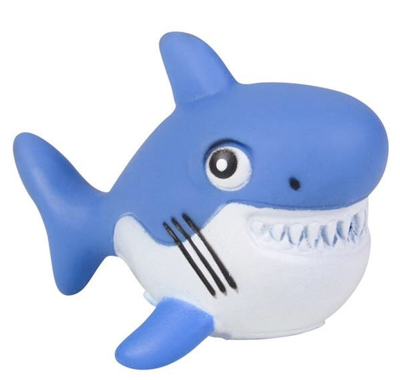 Rubber Water Squirting Shark, 2.75