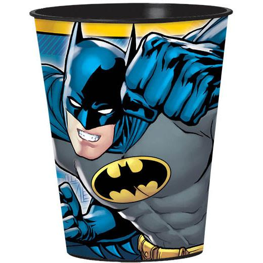 Batman Plastic Party Cup, 16 oz.