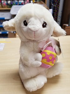 "10"" Easter Lamb Stuffed Animal"