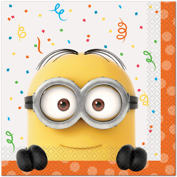 Minions Luncheon Napkins, 16 ct.