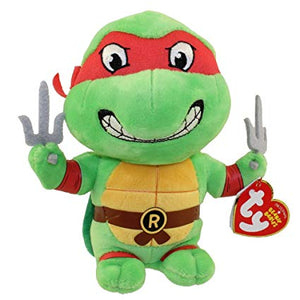 Ty Plush Teenage Mutant Ninja Turtles Raphael