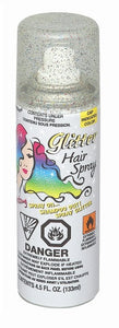 Rainbow Glitter Neon Hair Spray, 4.5 fl oz