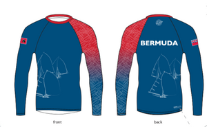 Bermuda Red and Blue