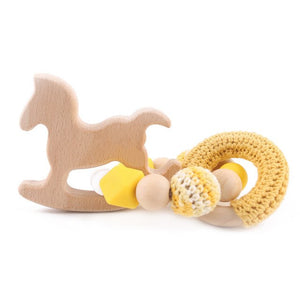 1pc Childlike Trojan Bracelet Crochet Bead Ring Combination