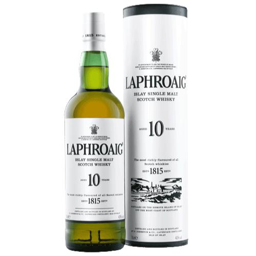 Laphroaig 10 Year Old Scotch Laphroaig